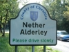 Nether Alderley Sign