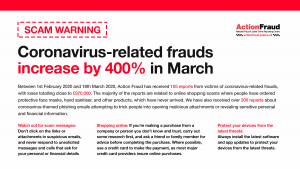 27.03.20 Coronavirus - action fraud