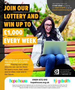 Hope House Lottery Poster