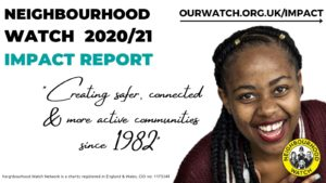 Neighbourhood Watch Impact Aldert Report 2020-21