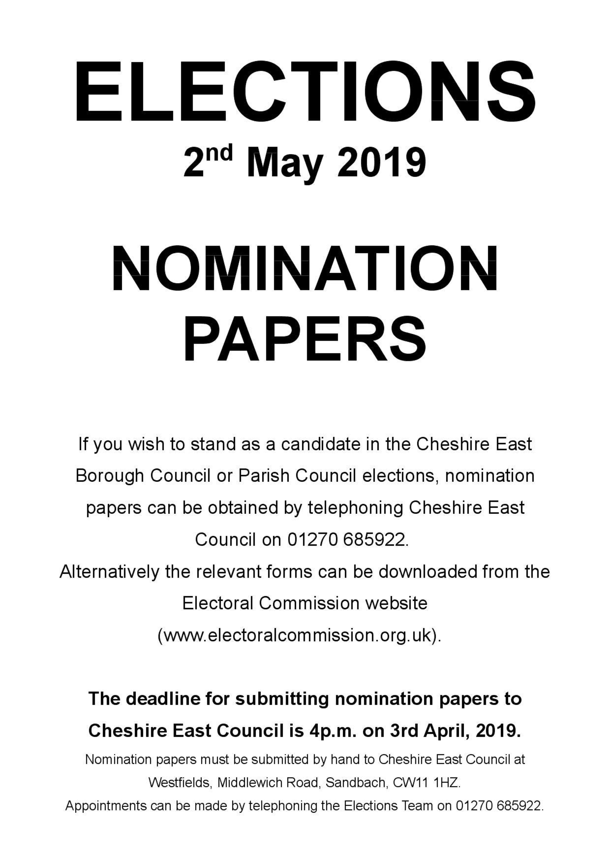 Nomination Papers 3