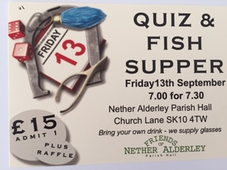 QUIZ INCLUDING A FISH & CHIP SUPPER