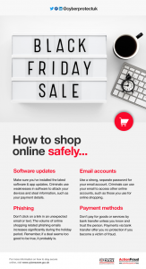 Shop safely on line