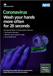 Washing hands - Coronavirus