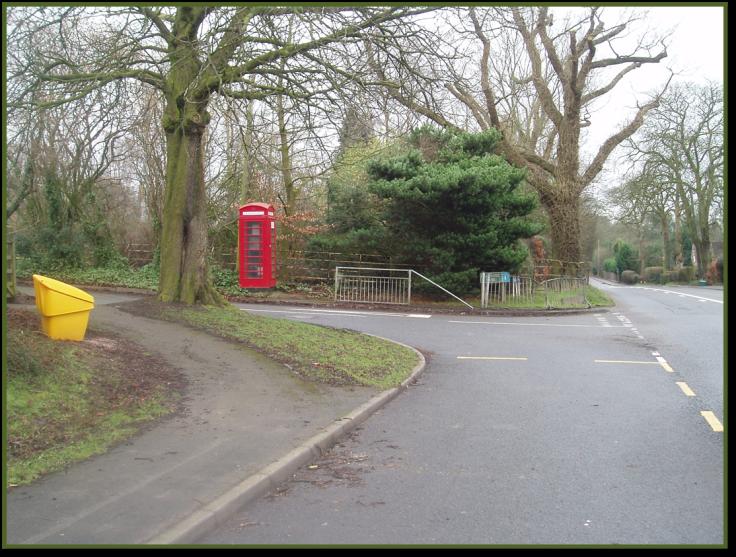 Red Telephone Kiosk, Bradford Lane